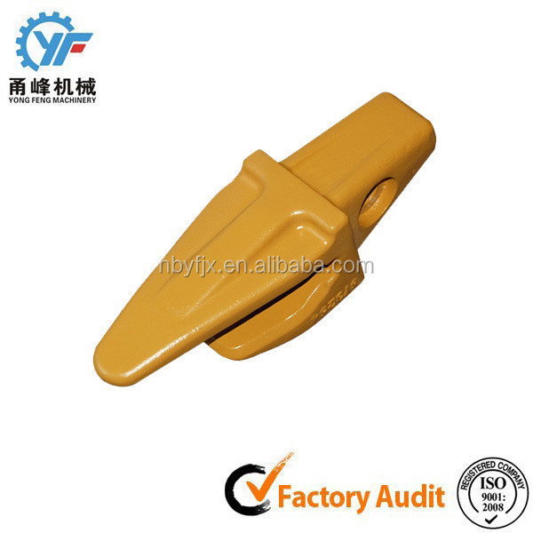 low cost excavator bucket tooth point adapter with wear resistance