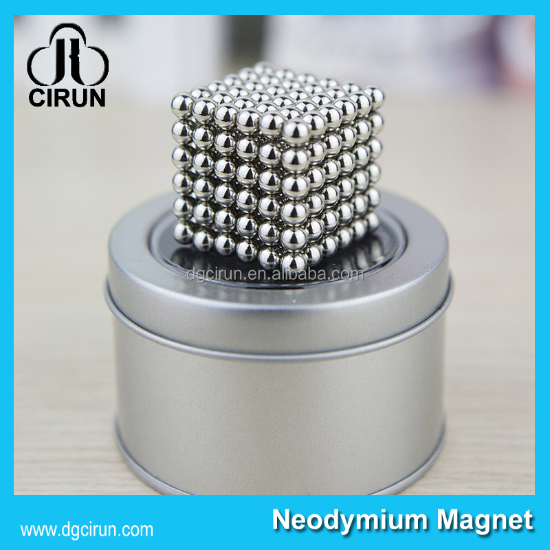 Jewelry Magnet Application and Permanent Type magnet balls 5mm