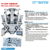 dried fruit 10 buckets multihead scale multihead weigher