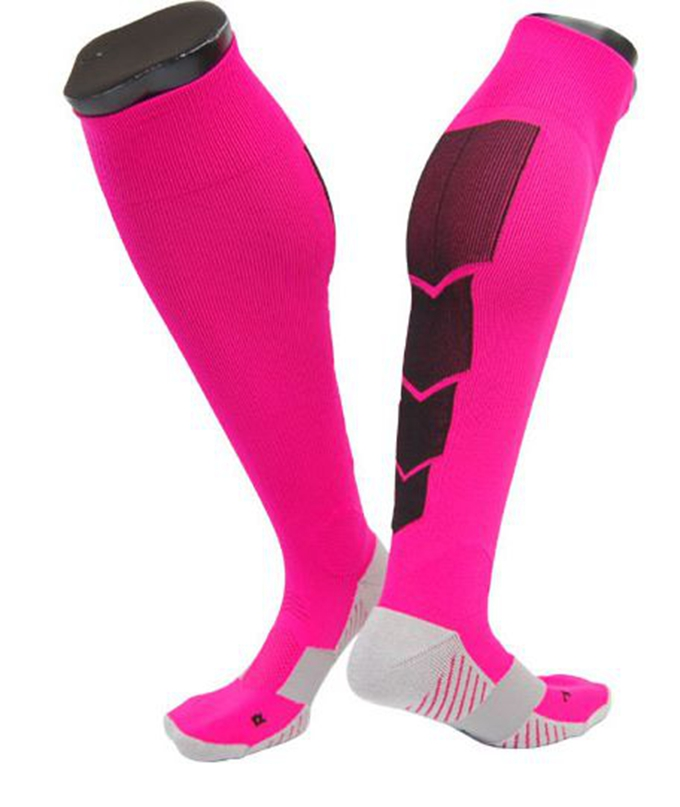 Best custom made colored running compression socks for women