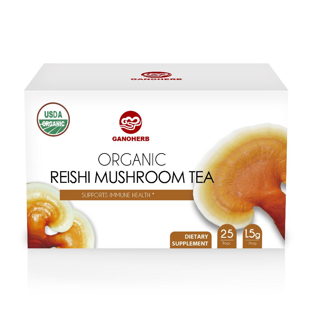 100% Natural Organic Detox Body Herbal Tea Reishi Mushroom Tea - 4uTea | 4uTea.com