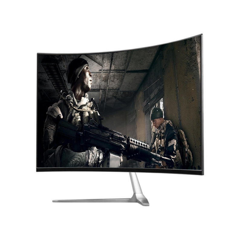 Hot sales widescreen 24 inch FHD TFT led curved gaming monitor