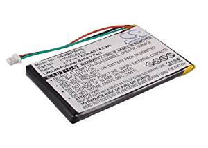 Battery2go - 1 year warranty - 3.7V Battery For Garmin Nuvi 755