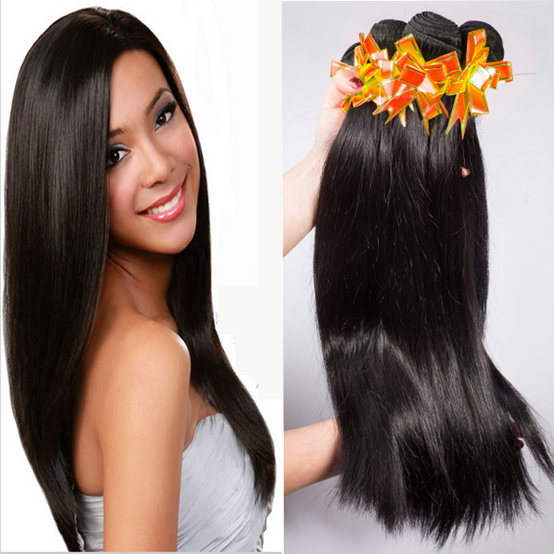 Unprocessed 7A Peruvian Virgin Hair Straight 4 Bundles Peruvian Straight Virgin Hair 100 Human Hair Extensions