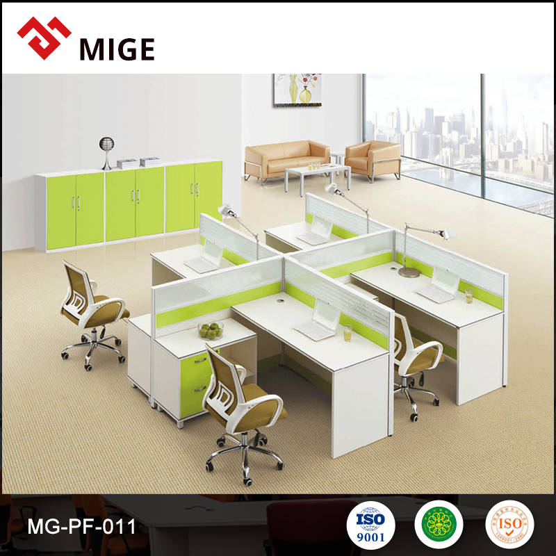office workstation executive 2 person reception desk