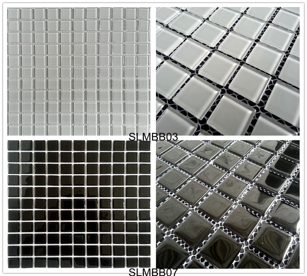 good quality cheap price tiles from foshan mosaic factory swimming pool tiles and decorative wall crystal glass mosaic tile