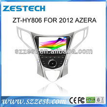 ZESTECH central multimedia car dvd radio for Hyundai Azera 2012 with Steering Wheel