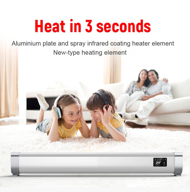 Good Waterproof Home Electric Baseboard Convector Heater