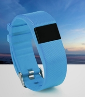 Alarm clock vibrate reminder bluetooth sport bracelet wristband watch tw64