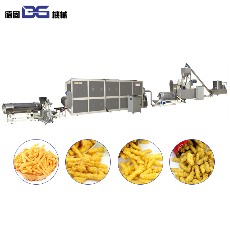 Extrusion Automatic Corn Grits Nik Nak Cheetos Food Extruder Production  Line Factory Price/extruded Cereal Grits Kurkure Food - Buy Cheetos Food