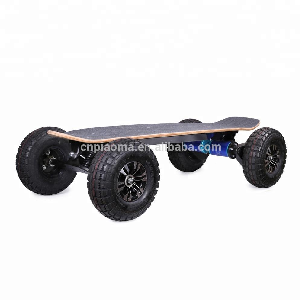Wholesale 4 wheel long board boosted dual 4000w electric skateboard, Customized