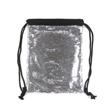 Sublimazione In Bianco Magia Paillettes Drawstring Bag