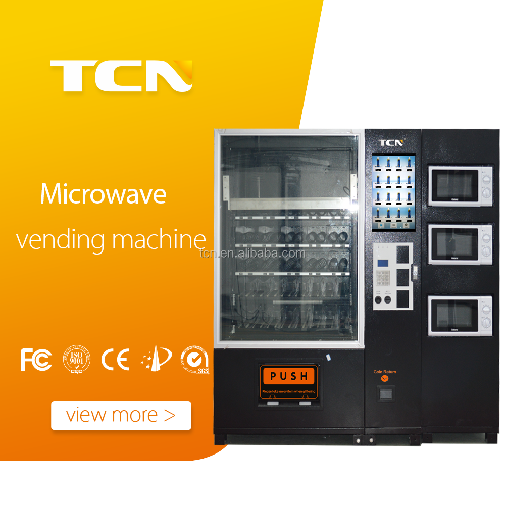 TCN Pizza vending machine with Microwave , pizza-vending-machines-for-sale