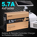 Sunnylife 4 Faster Charger 4in1 Battery and Remote Controller Charger 5 7A Big Current for DJI