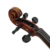 handmade antique professional carved scroll solid maple violin flamed