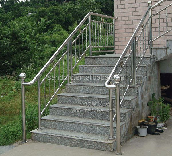 Stainless Steel Outdoor Stair Railing   Buy Stainless Steel Outdoor Stair  Railing,Indoor Steel Stairs,Residential Steel Stairs Product On Alibaba.com