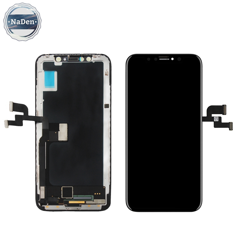 Replacement Fix Original Foxconn OEM AAA 8X Spare Parts Display Touch Screen Digitizer Assembly For Iphone X <strong>Lcd</strong> Black