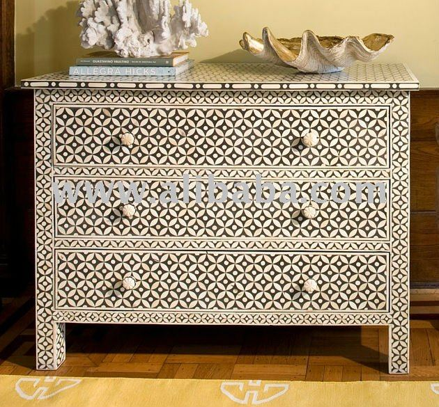 Bone Inlay Chest Of Drawer Buy Bone Inlay Sideboard Product On Alibaba Com