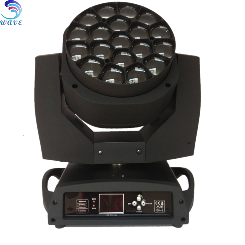 Good quality product 19pcs Big-bee zoom effects stage moving head light