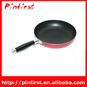 Round Aluminium Fry Pan/Skillet With Plastic Handle