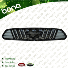 Refit Front Bumper Grille For Ford Mustang (Armor)with light
