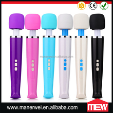 Electric Wireless Full Body AV Rechargeable Magic Wand Massager
