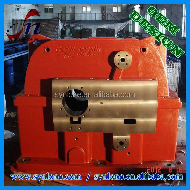 2017 cast iron gearbox housing, aluminum gearbox housing, cast iron bearing housing