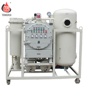 Portable Vacuum Waste Turbine Oil Treatment Centrifugal Oil Water Separate Machine