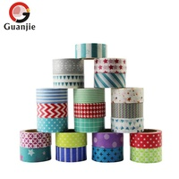 Japanese printed adhesive tape rolls washi tape sheets set