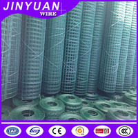 PVC Coated Welded Wire Mesh Garden Fence Panel / PVC Outdoor Dog Fence