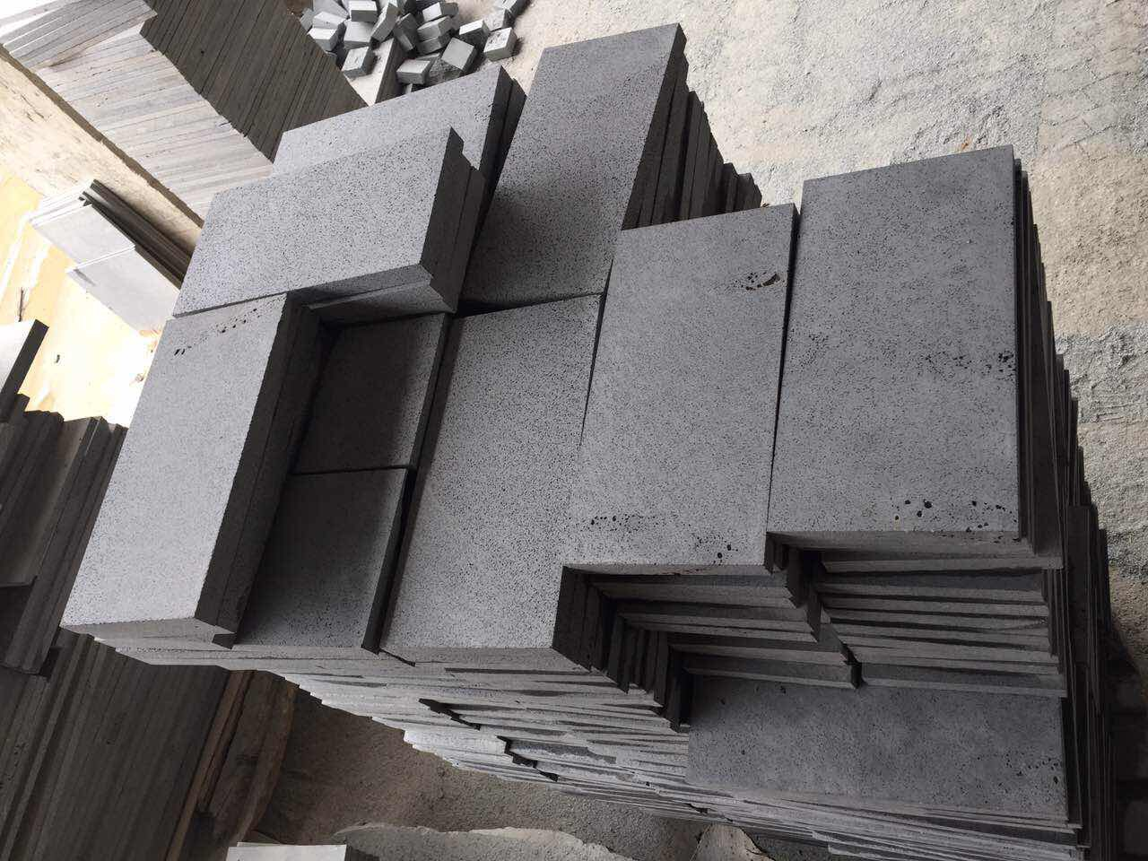 High Quality Tile Cut To Size Basalt Stone