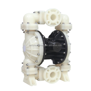 2 inch PVDF pump body's air operated acid pump with teflon diaphragm