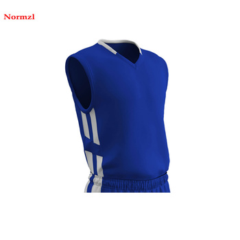 Basketball Jersey Design Color Blue  Latest Promotion Basketball Jersey