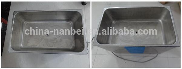 Lcd heated digital ultrasonic cleaner ps-20a