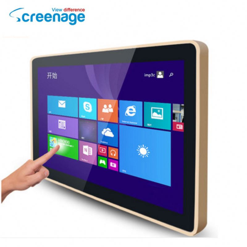 Factory outlet 10 4 inch touch screen monitor for shopping mall