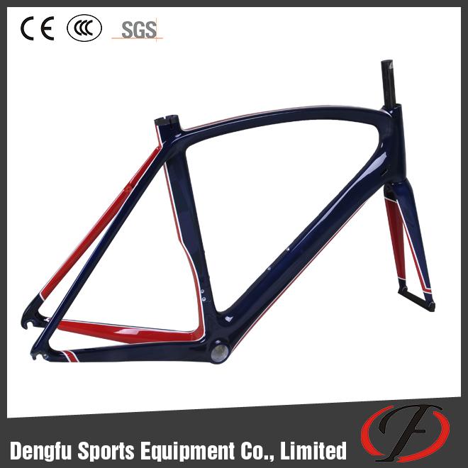 dengfu fm098 vente chaude chine cadre de v 233 lo de carbone pour v 233 lo de route di2 compatible cadre