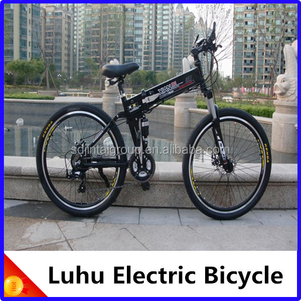 Luhu Electric Bicycle / Intelligent Controller / Double Disc Brake / Nice e-bike