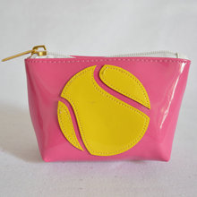Wholesale Custom Embossed Pu Leather Zipper Jewelry Pouch (20150702M71)