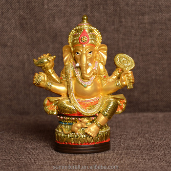 Golden Hindu God Ganesha Figurines Indian Wedding Gift Items - Buy Indian  Gift Items,Wedding Gift Ganesha,Hindu God Ganesha Product on Alibaba com