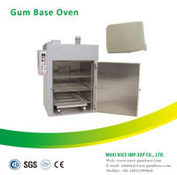 Gum base oven for bazooka bubble gum making plant