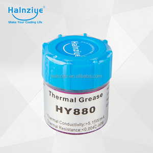 2017 hot selling product Silicone HY880 paste/compound grease With thermal conductivity 5.15 W/m-k In fan or CPU heatsink