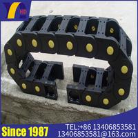 Machine tool engineering plastic drag chain