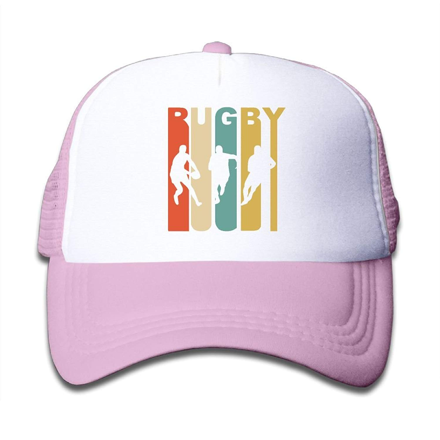 ed3b9979095 Get Quotations · Retro Rugby On Children s Trucker Hat