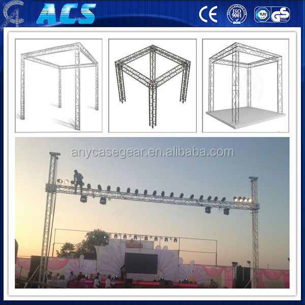 box truss, aluminum global truss,wedding stage lighting truss