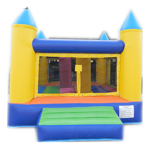 Crayon kids moonwalk inflatable bounce house for sale