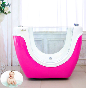 manufacturing Italy baby bath tub hydromassage/baby bathtub spa/colorful light,waterfalling function