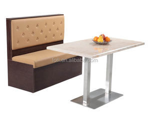 italian style rectangle marble top tables dining tables brown booth seating