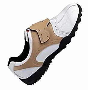 Shangtom416 Golf Shoes Men Golf Shoe 02 Breathable No-Slip Wear Resistance Brown US8.5 EU42 UK8
