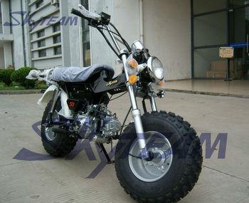 Skyteam 125cc 4 Stroke T-rex Rv90 On Road Beach Motorcycle (eec Euroiii  Euro3 Approval,5 5-10