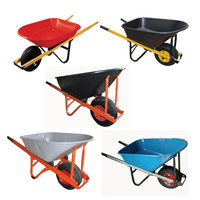 Power wheel barrow various types of wheelbarrow